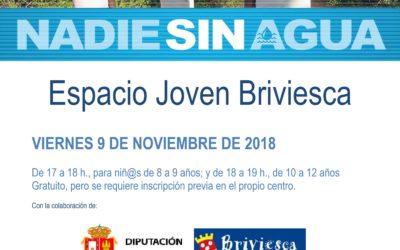Exposición y taller Nadie sin agua en Briviesca