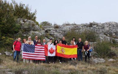 Una marcha por el Geoparque de Las Loras